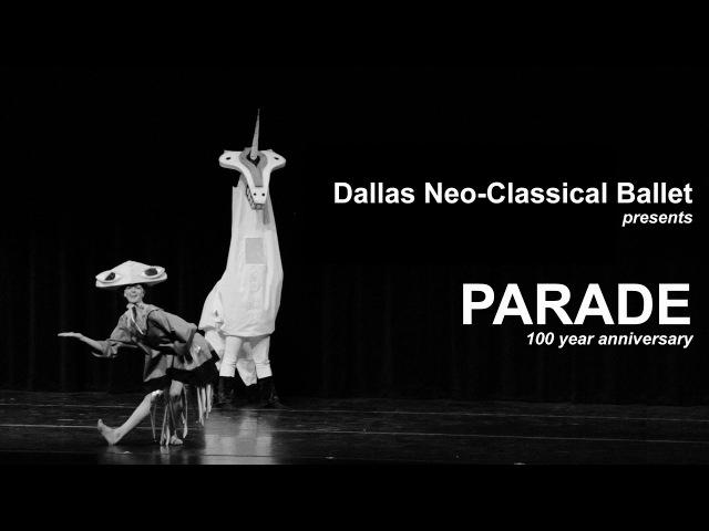 Dallas Neo-Classical Ballet - PARADE 100 year anniversary