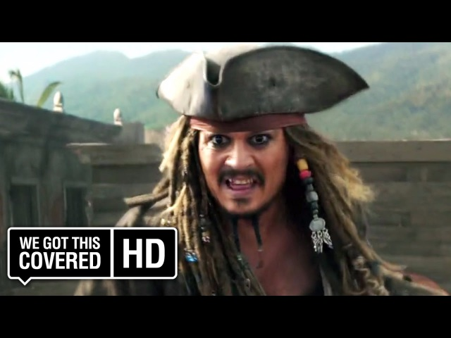 Pirates of the Caribbean: Dead Men Tell No Tales Official Trailer 4 [HD] Johnny Depp, Javier Bardem