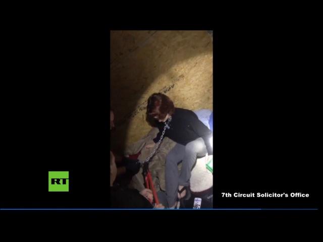 Wie ein Hund an der Kette gehalten - Polizei befreit Frau aus Gefangenschaft eines Serienmörders
