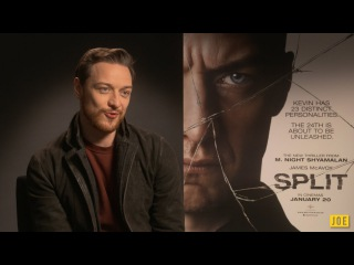 James McAvoy talks about creepy new thriller Split reveals his perfect hangover cure