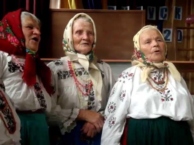 Бовсунівські бабусі. Співи. Петрівка.
