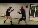 Спарринг Никита - Роман, бокс и кикбоксинг