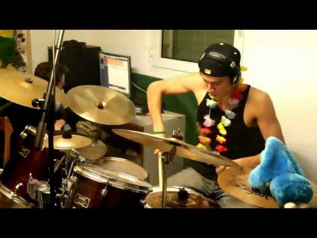 Party Rock Anthem (LMFAO) - DRUM COVER by EK the drumma