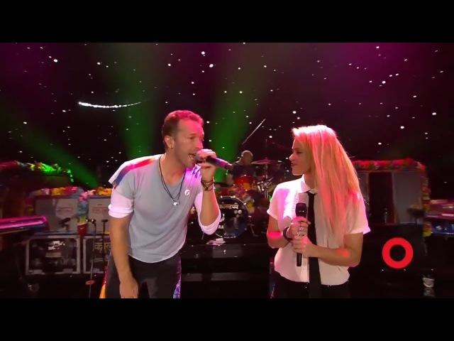 Coldplay Shakira A Sky Full of Stars | Live at Global Citizen Festival Hamburg
