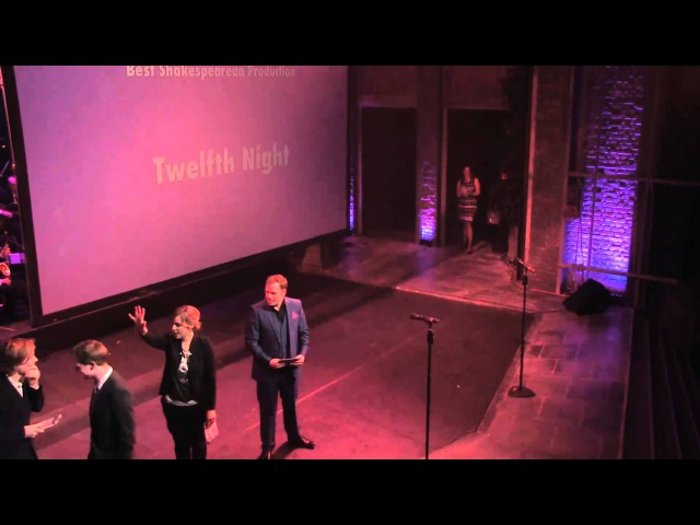 Twelfth Night wins Best Shakespearean Production at 2013 Whatsonstage.com Awards