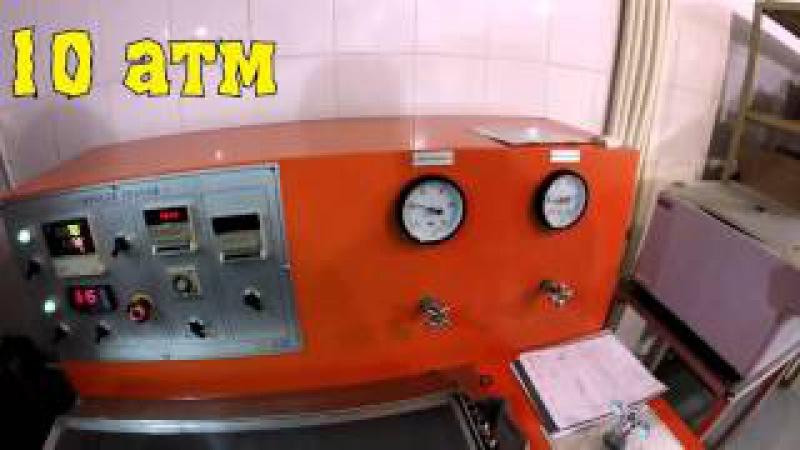 Тест на экстремальное давление масляного фильтра SCT SM 142