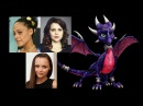 Comparing The Voices - Cynder