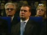 И.Алиев,В.Путин,Д.Медведев слушают Азербайджанский мугам про Карабах.