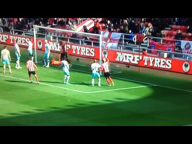 Wahbi Khazri goal from a Corner vs West Ham
