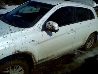 Mitsubishi ASX - Танки грязи не боятся