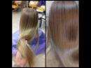 Окрашивание длинных волос: натуральный русый Long hair coloring: natural blond