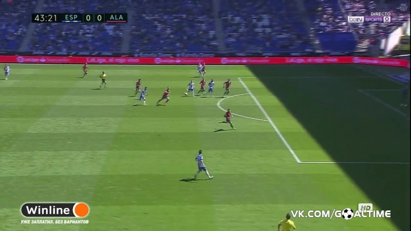 ГолТВ рф Эспаньол Алавес 1 0 Обзор матча Ла Лига