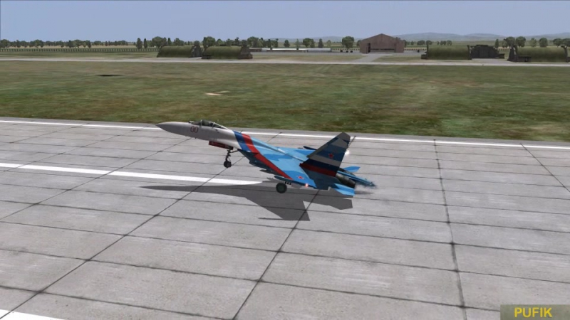 DCS World - Выёживание на Су-27