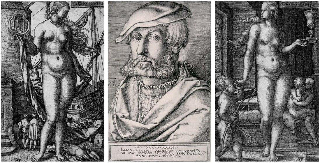 Генрих Альдегревер. Семь планет. 1533 г.