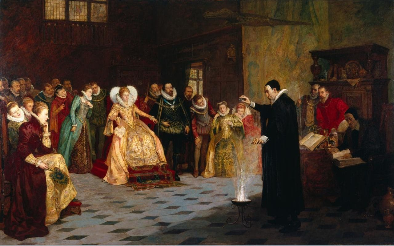 Б. Беренс. Ренессансный маг Джон Ди (1527-1608)