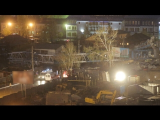 Упал кран / Красноярск (VHS Video)