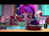 #EquestriaGirlsMinis настолько глупы и милы! Проверьте, что происходит, когда #TwilightSparkle делает закуски для своих лучших д