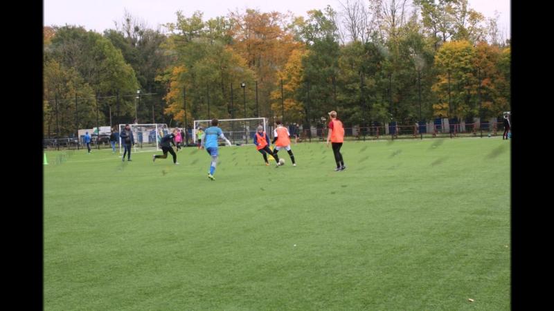 Сборная КМЛ на районных соревнованиях по футболу