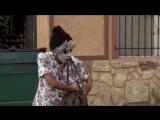 Блэк-метал бабка гасит нигеров на районе