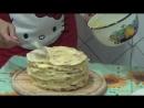 Как приготовить торт НАПОЛЕОН с ЗАВАРНЫМ КРЕМОМ Как готовить крем для торта рецепт