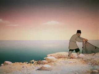 «Сказка о рыбаке и рыбке» (1950), реж. Михаил Цехановский