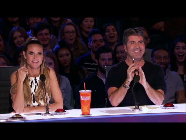 Impressionist Daniel Ferguson Mocks Simon with 'Cake by the Ocean' America's Got Talent 2017