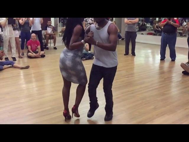 Kizomba dancing - Cymeone Malicia - Taste of Kizomba - Chicago