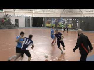 Чемпионат КБР по мини-футболу 2016-17 г.г. 15-й тур.УВО - Бравис. 1 тайм.