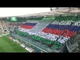 Einlauf: SK Rapid Wien 1:0 LASK