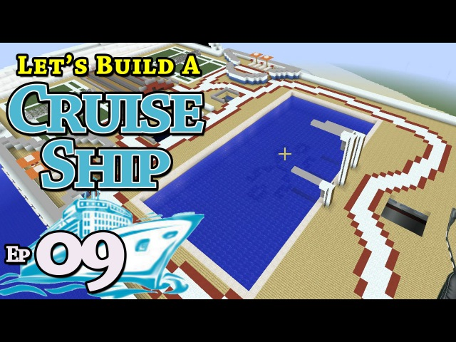 How To Build A Cruise Ship Minecraft E9 Z One N Only