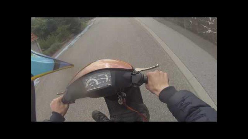 Yamaha jog as 70cc malossi sport onboard
