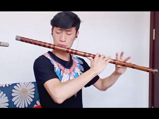 《Big fish》Bass G dizi Chinese bamboo flute music player Feidi《大鱼》飞笛大G竹笛演奏