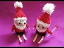 Дед Мороз часть 1 Santa Claus Crochet part 1