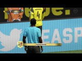 FIFA 17 - Yellow card sent off