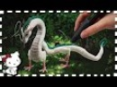 3D Pen Anime Creation ♥ Chihiros Haku Dragon / Drache ♥ from Spirited Away! 12 Inches long!