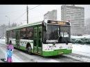Поездка на автобусе ЛиАЗ 5292 21 № 041118 Маршрут № 833 Москва