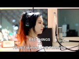 Bad Things &amp I Don't Wanna Live Forever ( MASHUP cover by J.Fla )