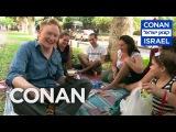 Conan Hits The Streets &amp Beaches Of Tel Aviv - CONAN on TBS