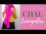 CHAL TRIANGULAR EN CROCHET - Paso a Paso por mamaQuilla