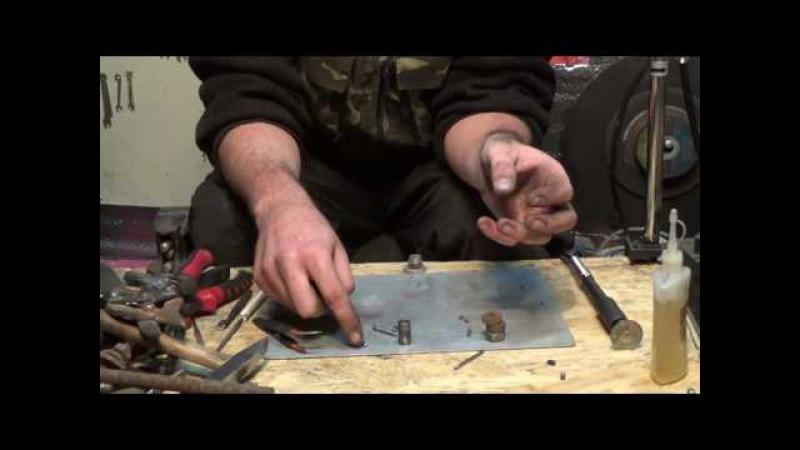 Как сделать пули для пневматики/How to make bullets for airguns