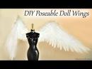 DIY Angel Doll Wings Doll Craft Tutorial