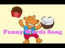 Sing with me - Funny Words Song - Hurray Kids Songs