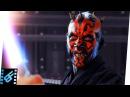 Qui Gon Obi Wan vs Darth Maul Star Wars The Phantom Menace 1999 Movie Clip