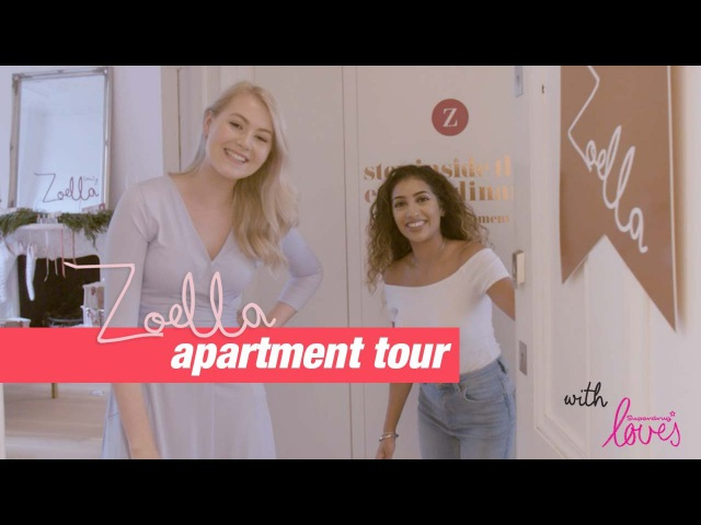 Zoella apartment tour with Anchal MUA and Meg Says