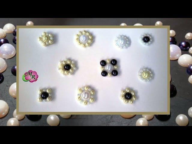 Лайфхак. DIY Серединки для бантов и цветов канзаши/Lifehack for handmade. DIY accessory for bow.
