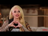 STITCHED UP HEART - Tattoo Magazine Interview with Mixi