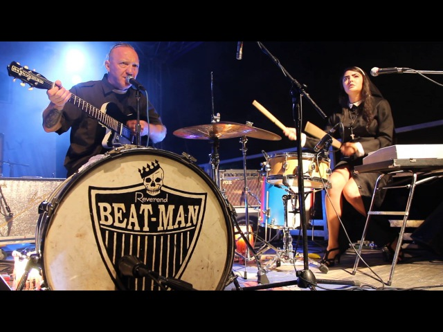 Reverend Beat Man Sister Nicole Izobel Garcia - Jesus Christ Twist bluestrash onemanband voodoorhythm