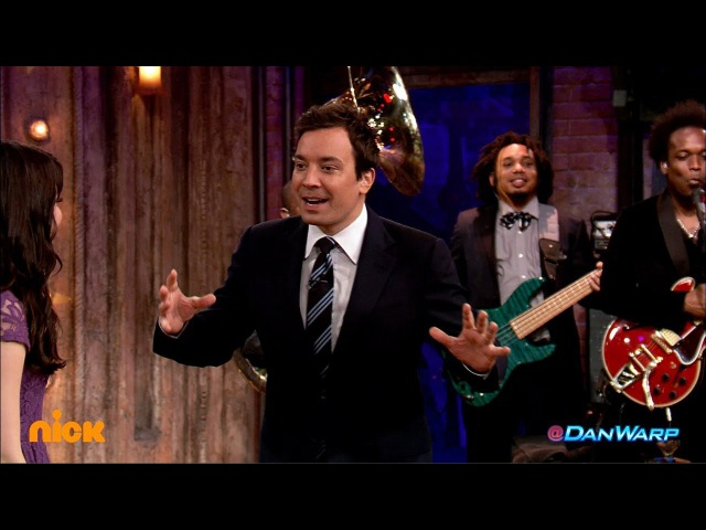 "ICarly Meets Jimmy Fallon! | ""iCarly"" 