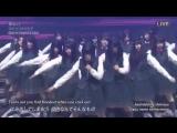 Keyakizaka46 (欅坂46) - Eccentric (エキセントリック) + talk THE MUSIC DAY 2017.07.01