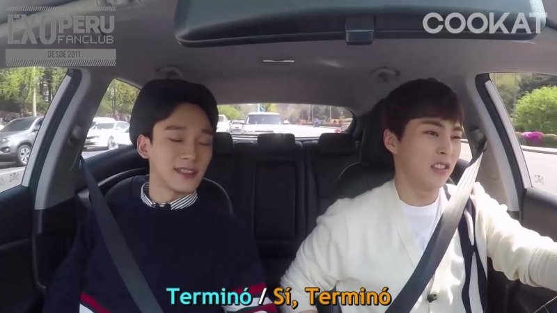 """[SUB ESP] Xiumin - Chen @ EXO es un verdadero fan de """"Descendientes del sol"""""""